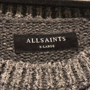 All Saints Sweaters - ALL SAINTS short sleeved sweater